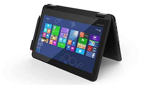 A Windows device with a digital inking pen.
