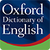 The Oxford English Dictionary logo.
