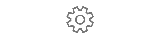 Icon image of a cog