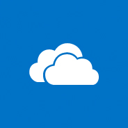 Image of the OneDrive logo