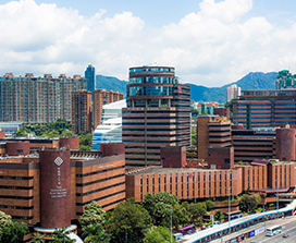 Photograph of Hong Kong's polytechnic University.