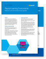 Thumbnail of two sheets of paper from the physical learning environments. Click to download this PDF file.